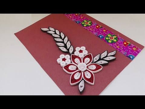 how to make greeting cards with paper flowers