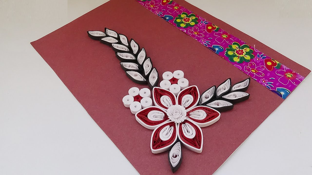 Quilling Card How To Create A Simple Quilled Birthday Paper Art