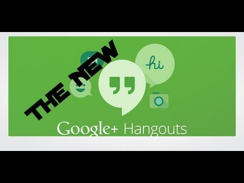 Google Hangouts iOS walkthrough and setup