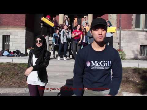 "McGill University gOT Spirit Challenge 2017 - Despacito Parody (""Occupation"")"