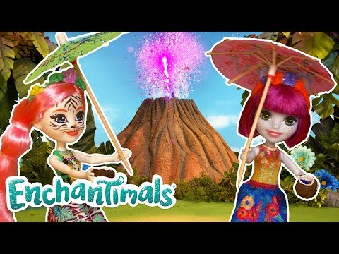 Volcano Glitter Factory Surprise! | Enchantimals