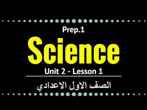 علوم لغات -  Prep1 - Unit 2 Lesson 1 - Energy Resources and Forms