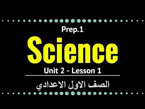 علوم لغات -  Prep1 - Unit 2 Lesson 1 - Energy Resources and Forms