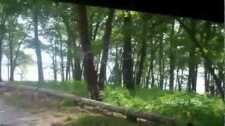 Honey Creek State Park in Iowa on Rathbun Lake Camping Boating Hiking Video