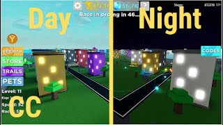 Roblox Speed Of Legends Sky Cam View (Day/Night)