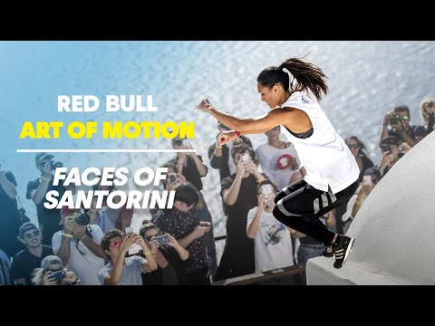 These are the faces of Santorini. | Red Bull Art of Motion 2017