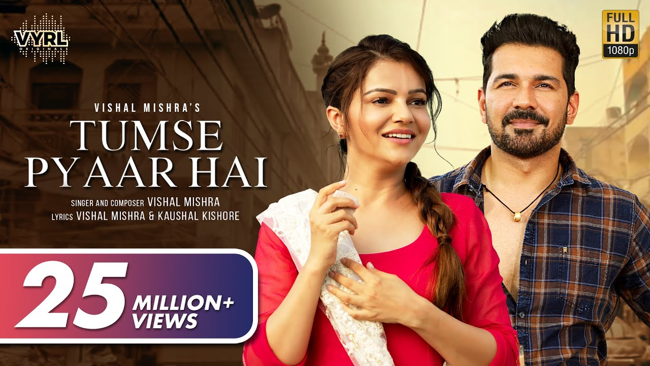 Download Tumse Pyaar Hai (Official Video) Vishal Mishra | Rubina Dilaik, Abhinav Shukla | VYRL Originals