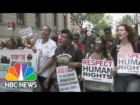Eric Garner's Death Protested In Staten Island | NBC News