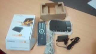 How To Unboxing Gadmei Tv Tuner Gadmei Super VGA TV Box Gadmei TV card Review