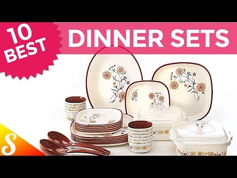 10 Best Dinner Set Brands In India With Price