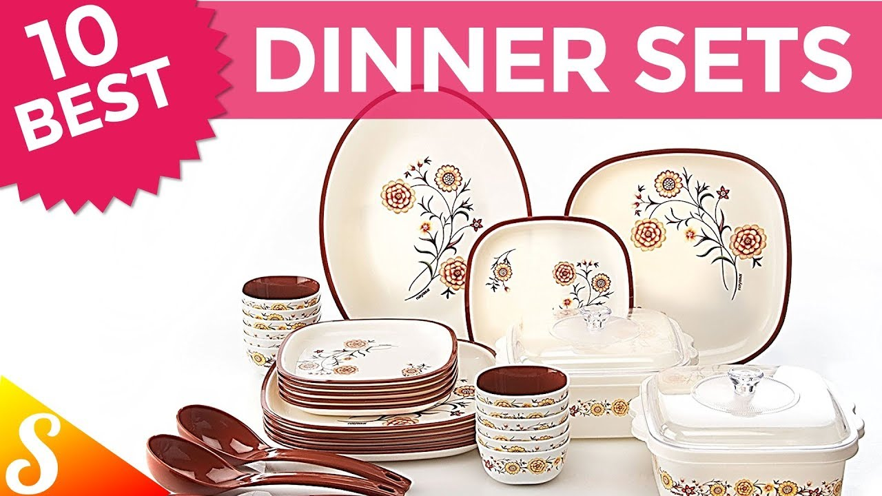 10 Best Dinner Set Brands in India with Price  sc 1 st  YouTube & 10 Best Dinner Set Brands in India with Price - YouTube