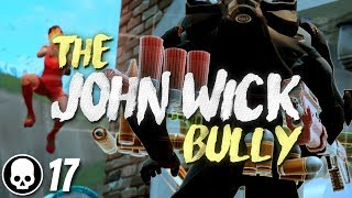 TRAPPING JOHN WICK! 17 Kill Solo Gameplay (Fortnite Battle Royale)