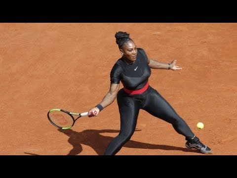 Serena Williams returns to French Open with new fashion statement