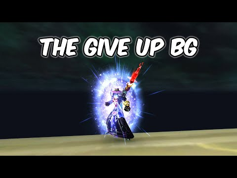 The Give Up BG - Frost Mage PvP - WoW BFA 8.2