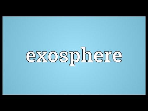 Header of exosphere