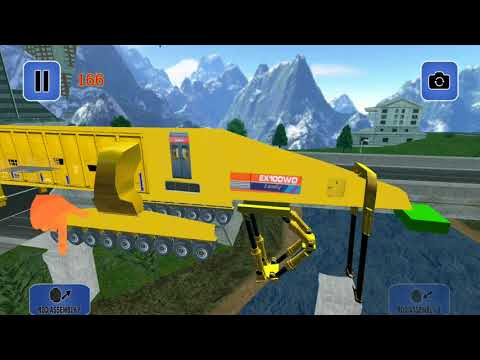 Chinese Bridge Builder Game Modern Machine 2 #S Bridge Games For Kids Android Gameplay FHD