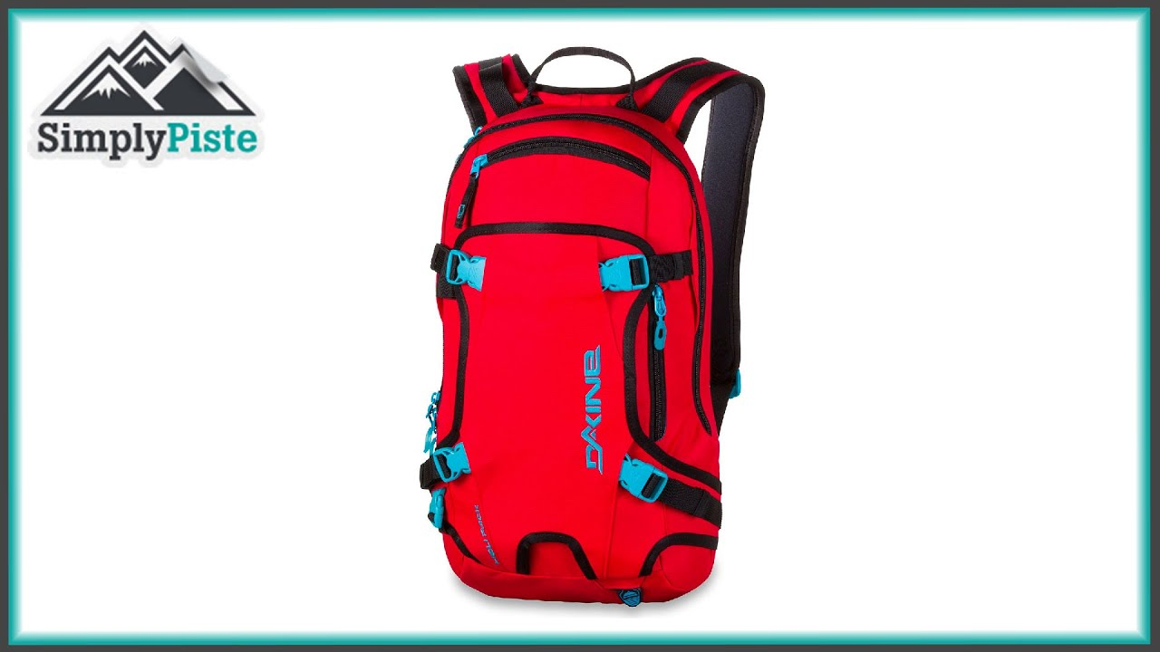 Dakine Heli Pack 11L - Red - www.simplypiste.com - YouTube 27c2edb715