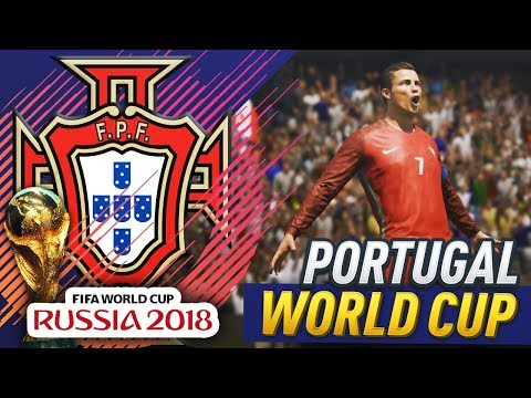 RONALDO WINS THE WORLD CUP!?! FIFA 18 PORTUGAL WORLD CUP CAREER MODE #1