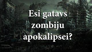 Cik ilgi Tu izdzīvotu zombiju apokalipses laikā?