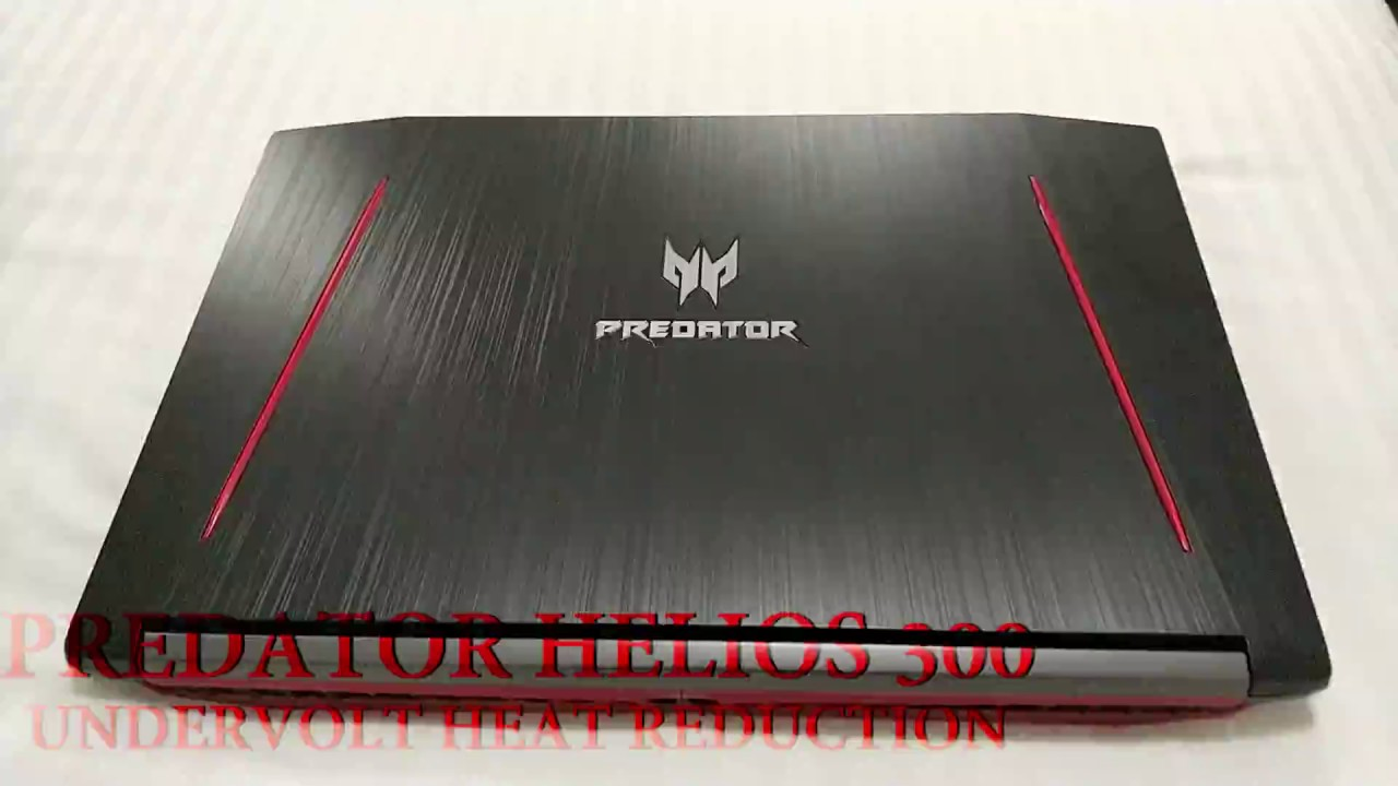 Acer Predator Helios 300 Overheating Fix
