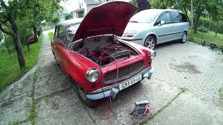 1963 Škoda Octavia start and walk around