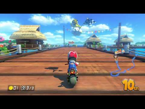 Mario Kart 8 (MK8) Online Worldwide - MORE RACES WITH KANARU