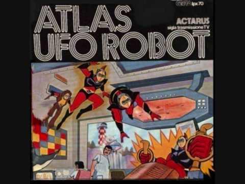 Ufo Robot  Actarus sigla completa