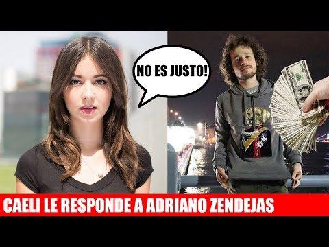 Caeli le respondió esto a Adriano | Luisito Comunica se compra sudadera de 30'000 pesos