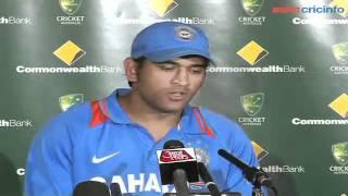 MS Dhoni, 5th ODI  Australia v India, Brisbane