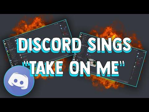 Discord Sings Take On Me