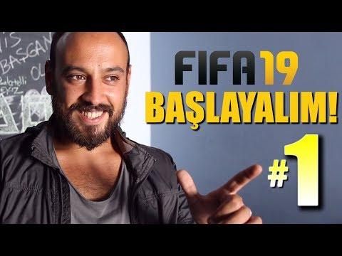 FIFA 19 KARİYER BÖLÜM 1: TÜRKİYE LİGİ - YENİLİKLER - TRANSFER