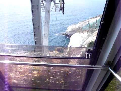 Rosh HaNikra - The Steepest Cable Car in the World