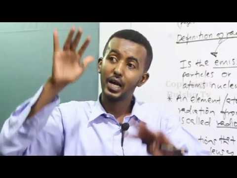 physics Form 4 Chapter 4 Lesson 1 Radio Activity (Aqoon Jire)