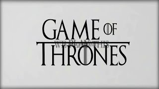 Dominik Omega - Game of Thrones Hip-Hop Remix (unofficial music video)