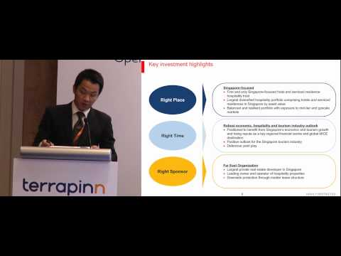 Prospects for hospitality REITs lisitng in Asia -- Presentation by Matthew Song of HSBC