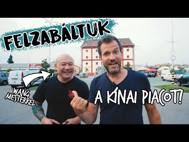 Felzabáltuk Budapest legjobb kínai kajáit - Wang mesterrel!