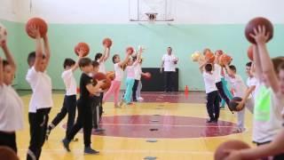 Урок на тему: «Баскетбол – ні хвилини без м'яча!»