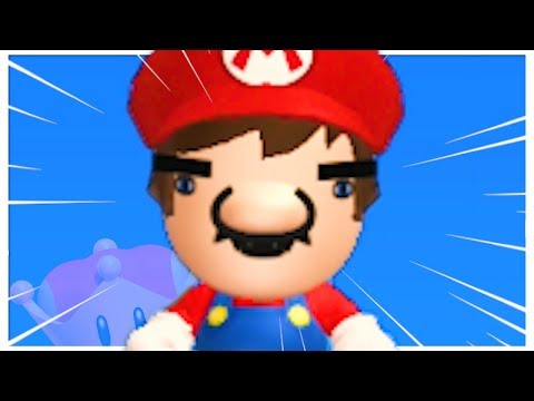 New Super Mario Bros. U Deluxe but some funny stuff happens