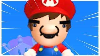 New Super Mario Bros. U Deluxe but some funny stuff happens