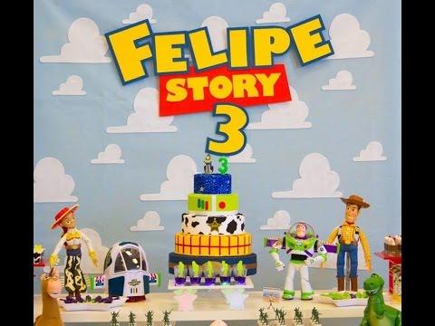 Dicas Para Festa De Anivers 225 Rio Toy Story Toy Story
