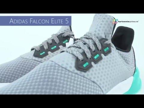 45e5e474946522 Buty biegowe adidas Falcon Elite 5 AF6423 - YouTube