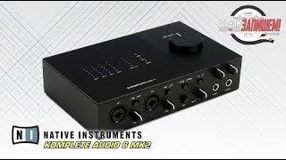 nATIVE INSTRUMENTS KOMPLETE AUDIO 6 MK2 - идеальная звуковая карта для домашней студии