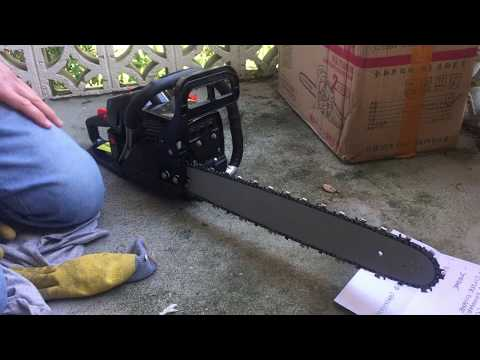 75 CC CHINESE CHAINSAW REALY 75 CC?? - YouTube