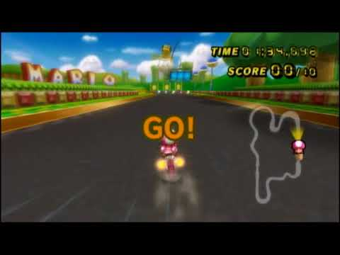 Mission #1: Hit Funky Kong 10 Times on GCN Mario Circuit