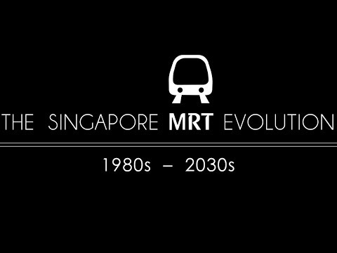 The Singapore MRT Evolution - 1980s to 2030s