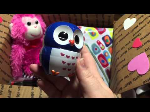 HPB Valentines secret Swap. My buddies box!
