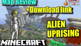 MINECRAFT - PS3 - ALIEN UPRISING HUNGER GAMES MAP REVIEW + DOWNLOAD LINK ( PS4 )  SERVER UPDATE