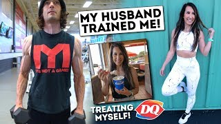 My Husband Trained Me!  Treat Meal at Dairy Queen!