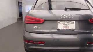 Go to town on the with its nimble performance and versatile cargo carrying capability, audi q3 can take you new adventures all over town. availab...
