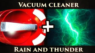Vacuum Cleaner mixed with a rain and thunder Sound ★ Perfect to relax or Sleep ★